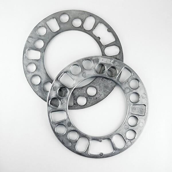 ホイールスペーサー 4mm 2枚入 PCD100 PCD114.3 4...