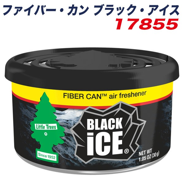 リトルツリー ファイバー・カン ブラック・アイス...