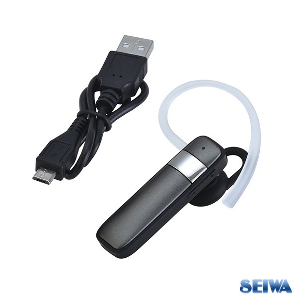 セイワ Bluetoothイヤホン ブラック ハンズフリー...
