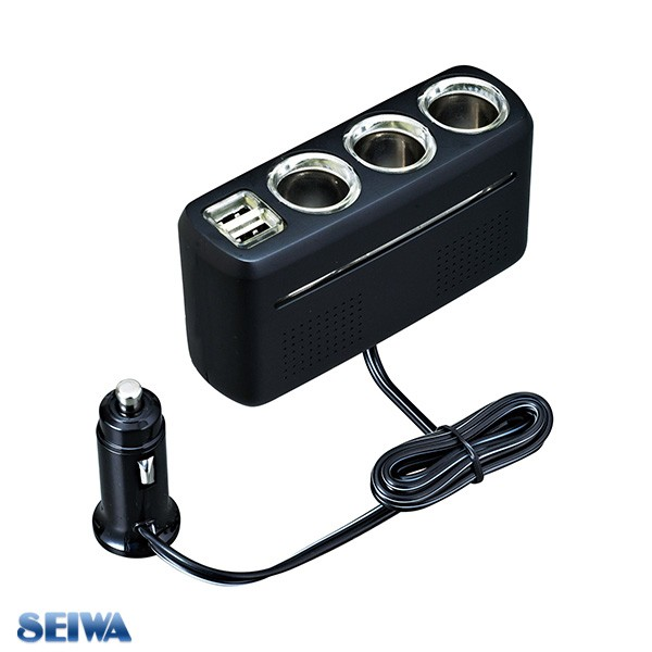 セイワ DCコンバーター トラック 大型 電圧 USBポ...