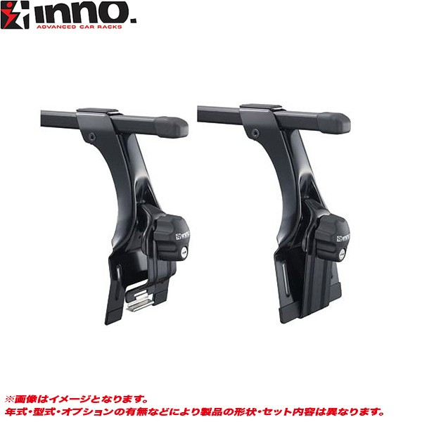 INNO/イノー キャリア車種別セット キャラバン E2...