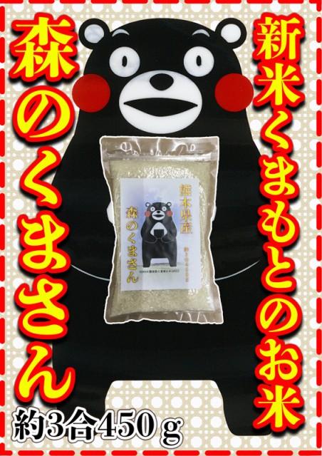 米 450g 九州 熊本県産 森のくまさん お試し米 約...