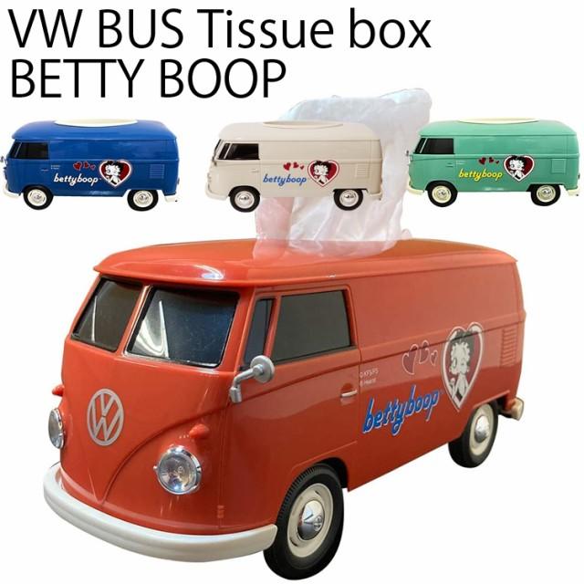 フォルクスワーゲン ベティちゃんT1バス型ティッ...