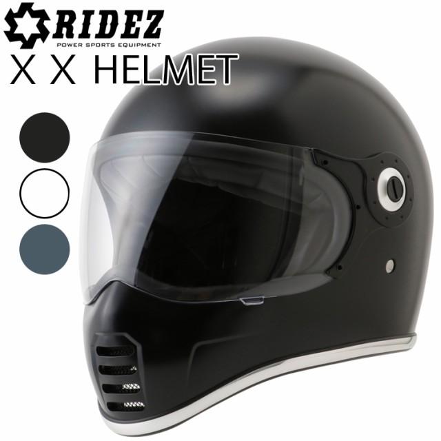 RIDEZ ライズ XXヘルメット ネオクラシックフルフ...