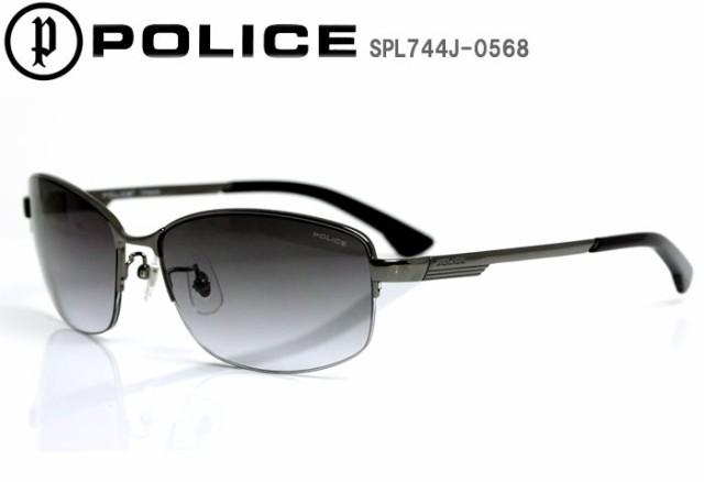 POLICE ポリス サングラス eyewear ハーフリム ジャパンモデル UVカット STORM SPL744J-0568 【激安】 【SALE】