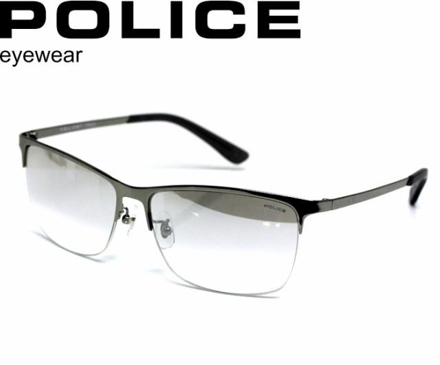 POLICE ポリス サングラス eyewear 最新モデル SPL746J-S11X ミラーレンズ ナイロール チタン 【激安】 【SALE】