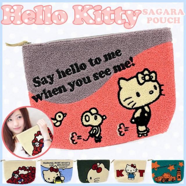 ハローキティ ポーチ Hello Kitty サンリオ タオ...