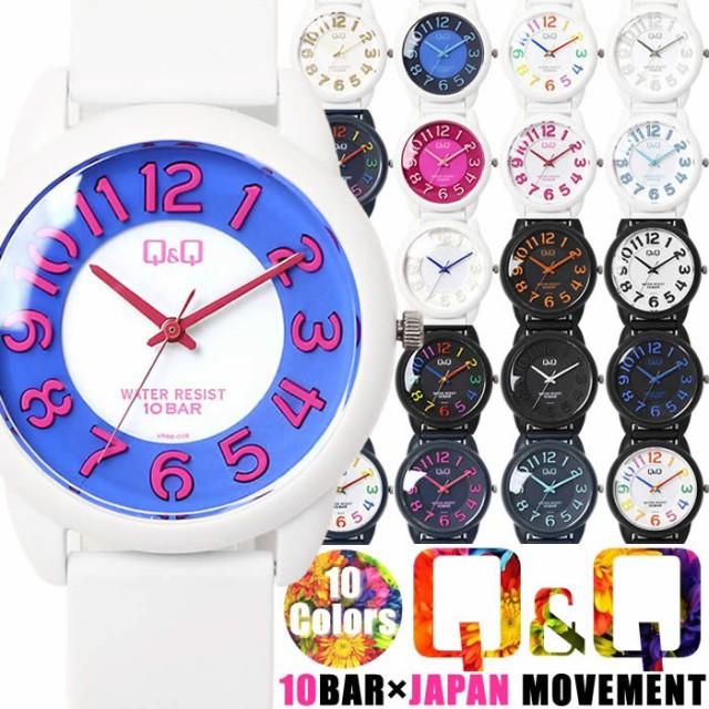 腕時計 レディース Q&Q 腕時計 メンズ シンプル ...