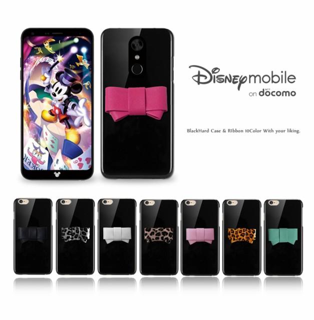 Disney mobile on docomo DM-01K ケース リボン ...