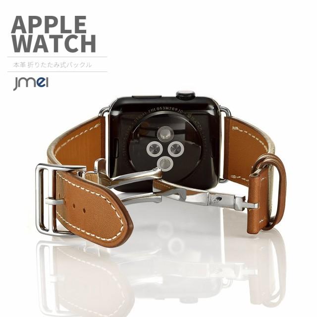 apple watch バンド 本革 レザー(Series 1, Seri...