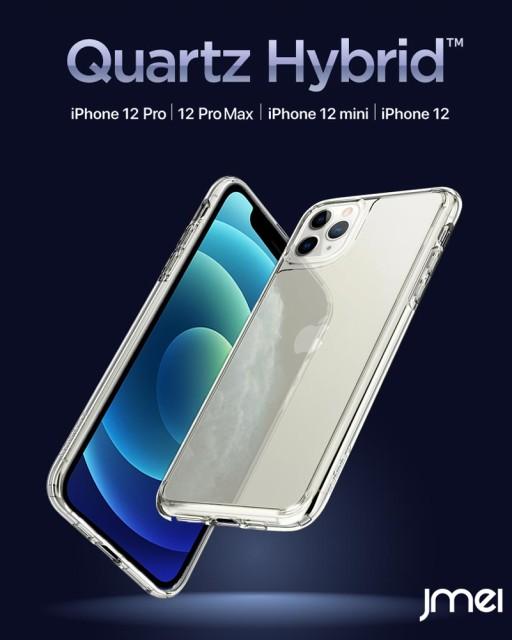 iPhone12 mini ケース 背面ガラス シュピゲン ク...