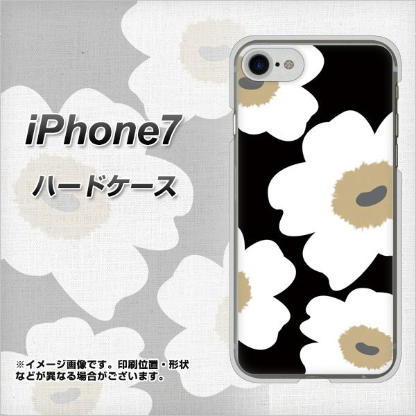 iPhone7 ハードケース / カバー【VA955 花柄 マリ...