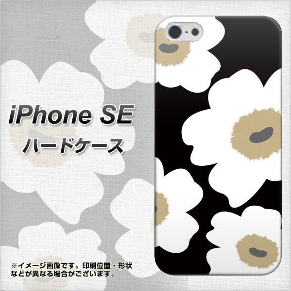 iPhone SE ハードケース / カバー【VA955 花柄 マ...