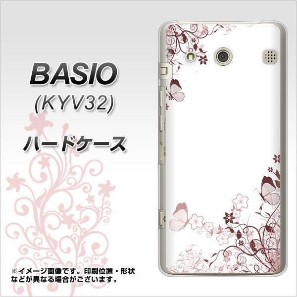 au BASIO KYV32 ハードケース / カバー【142 桔梗...