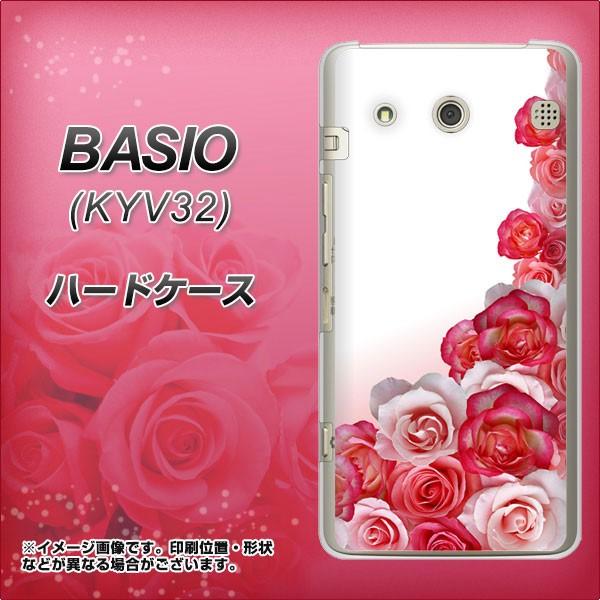 au BASIO KYV32 ハードケース / カバー【299 薔薇...