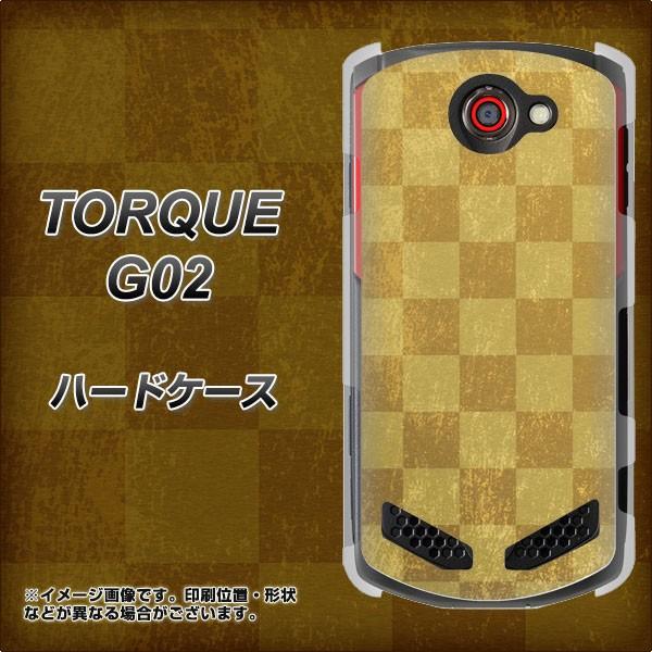 au TORQUE G02 ハードケース / カバー【619 市松...