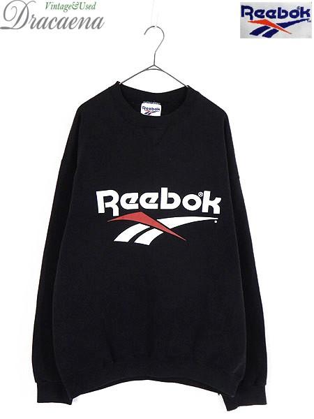古着 スウェット 90s USA製 Reebok リーボック BI...