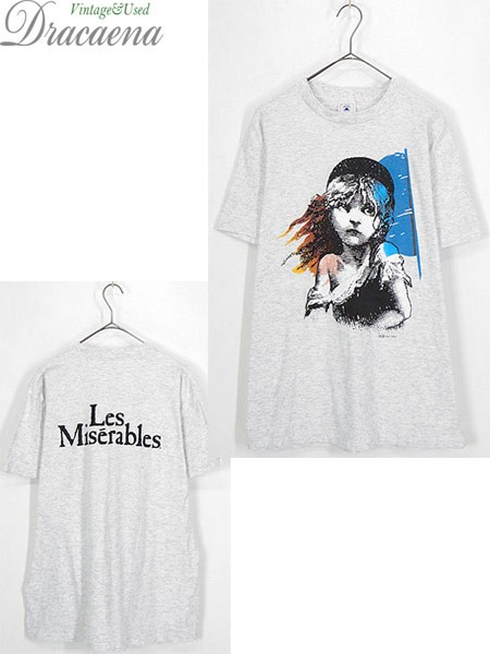 古着 Tシャツ 80s USA製 Les Miserables レ ミゼ...