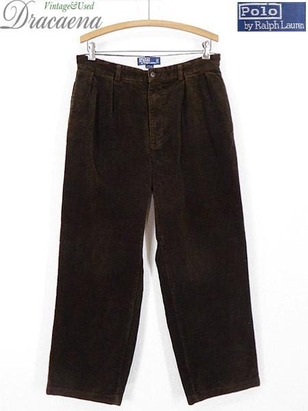 古着 パンツ Polo Ralph Lauren ラルフ コーデュ...