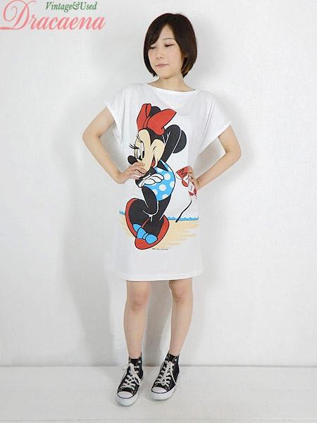 古着 ワンピース 90s USA製 Disney ディズニー ミ...
