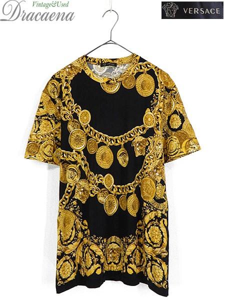 古着 Tシャツ イタリア製 VERSACE ヴェルサーチ ...