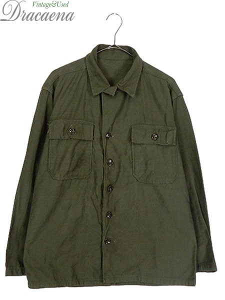 古着 シャツ 60s 米軍 「OG-107 1st 前期」 100% ...