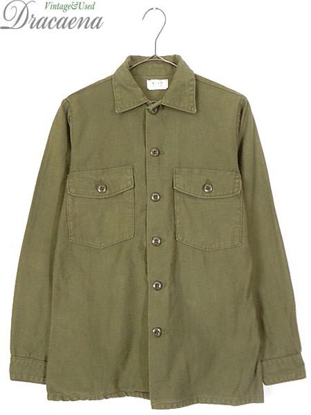 古着 シャツ 75s 米軍 シンプル 100% コットンサ...
