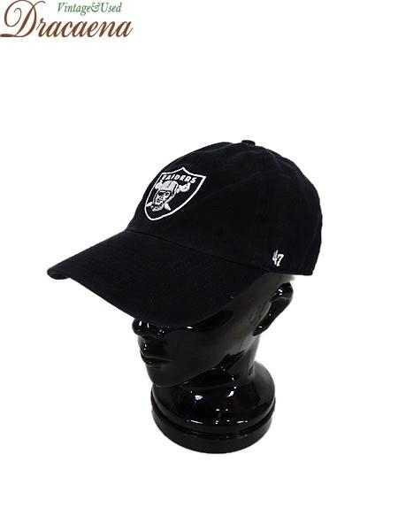 古着 帽子 NFL RAIDERS レイダーズ ロゴ 刺しゅう...