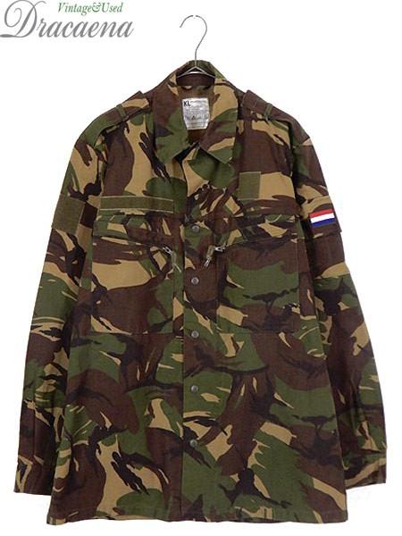 古着 ジャケット 90s オランダ軍 ミリタリー DPM ...