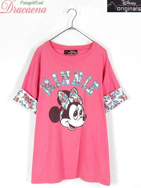 古着 レディース Tシャツ 90s USA製 Disney ディ...