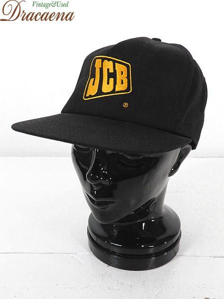古着 帽子 USA製 JCB ロゴ 刺しゅう コットン キ...