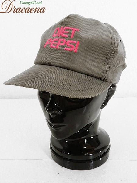 古着 帽子 USA製 「DIET PEPSI」 ペプシ コーラ ...