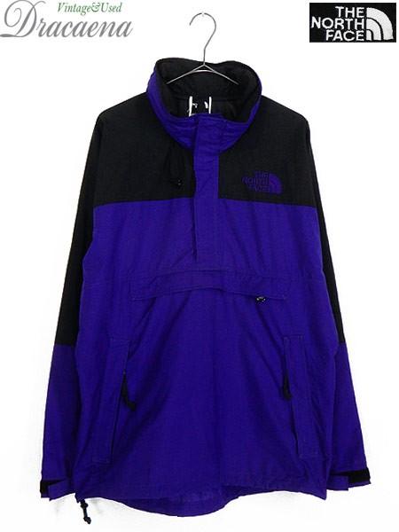 古着 ジャケット 90s TNF The NorthFace 紫 × 黒...