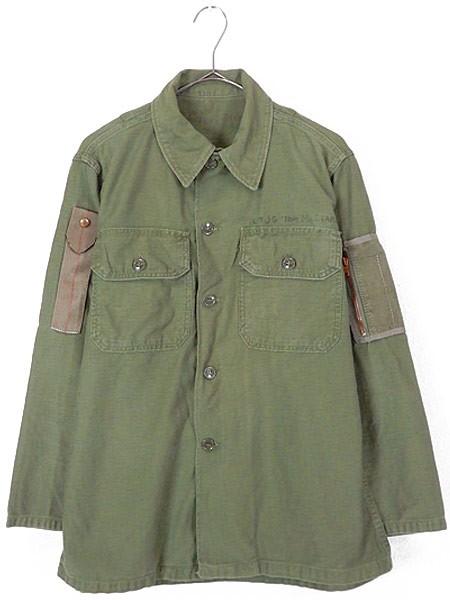 古着 シャツ 60s 米軍 「リメイク」 SHADE-107 ミ...