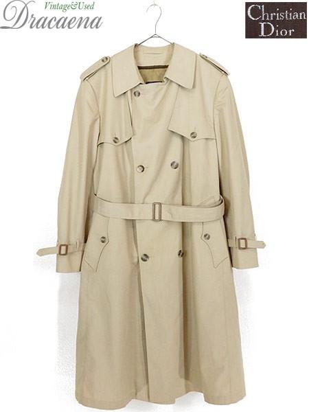 古着 コート Christian Dior ディオール コットン...