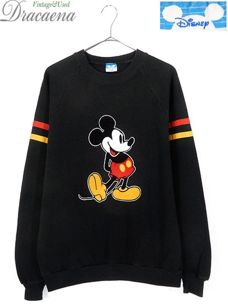 古着 スウェット 80s USA製 Disney Mickey Mouse ...