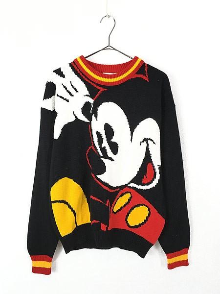レディース 古着 80s Disney Mickey Mouse ミッキ...