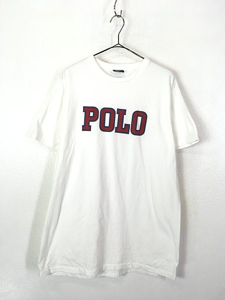 古着 90s POLO Ralph Lauren BIG ロゴ 100%コット...