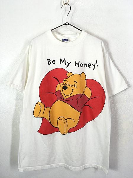 古着 90s Disney Pooh クマ プーさん 「Be My Hon...