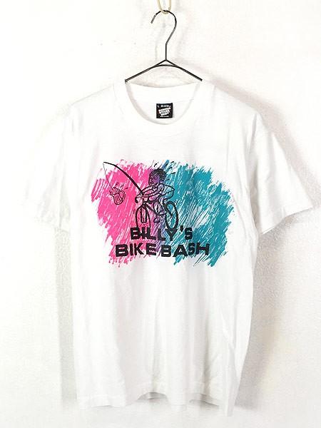 古着 90s USA製 BILLY'S BIKE BASH ビール付自転...