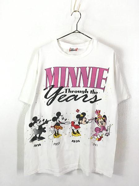 レディース 古着 90s USA製 Disney Minnie 「Thro...