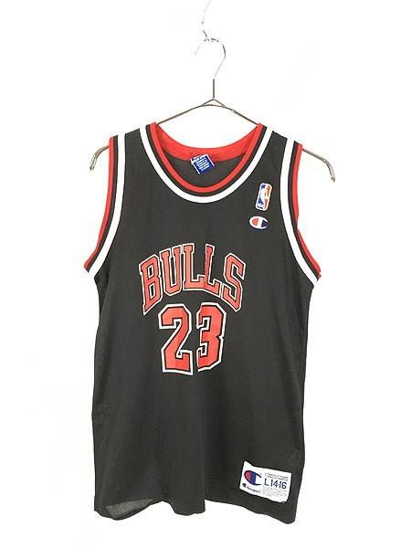 レディース 古着 Champion製 NBA Chicago BULLS N...