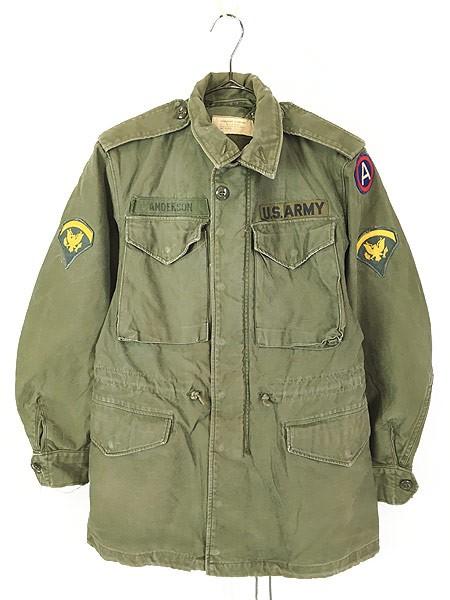 古着 60s 米軍 US ARMY M-51 ミリタリー フィール...