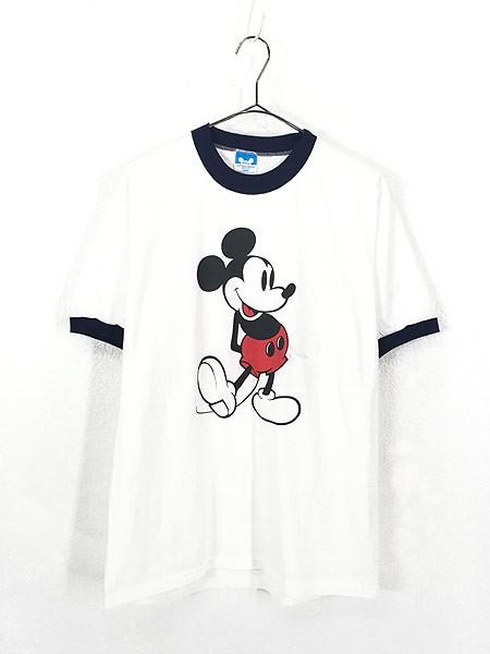 古着 80s USA製 Disney Mickey ミッキー キャラク...