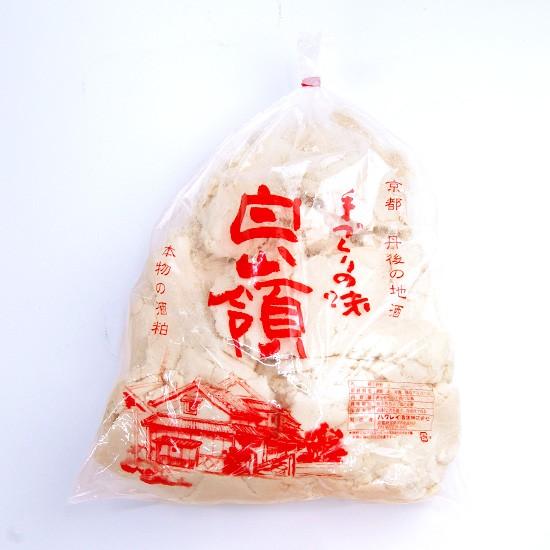 京都・丹後 白嶺酒造 おいしい酒粕 2kg (冬期...