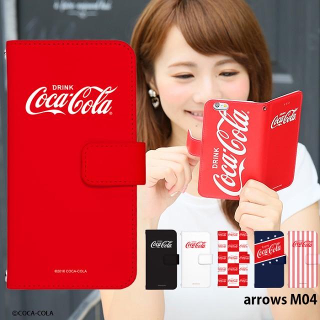 arrows M04 ケース 手帳型 スマホケース デザイン...