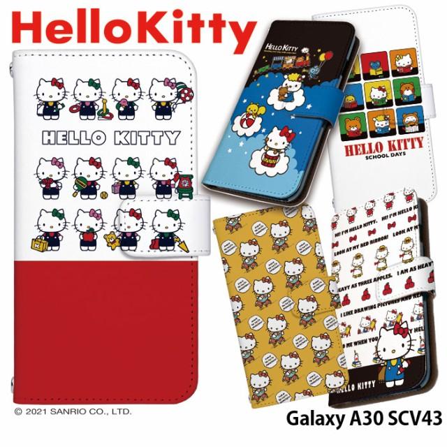 Galaxy A30 SCV43 ケース 手帳型 galaxya30 ギャ...