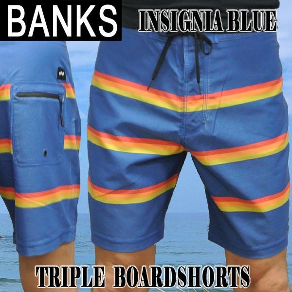 BANKS/バンクス TRIPLE BOARDSHORTS INSIGNIA BLU...