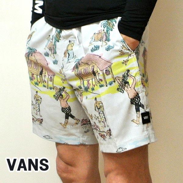 VANS/バンズ VANS×KIDE BOARDSHORTS 男性用 サー...