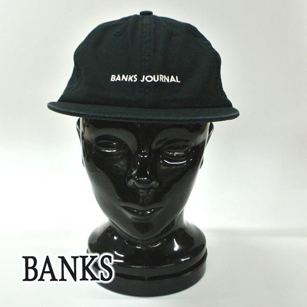 BANKS/バンクス LABEL HAT DIRTY BLACK CAP/キャ...